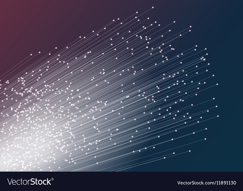 Abstract geometric technology design lines vector image