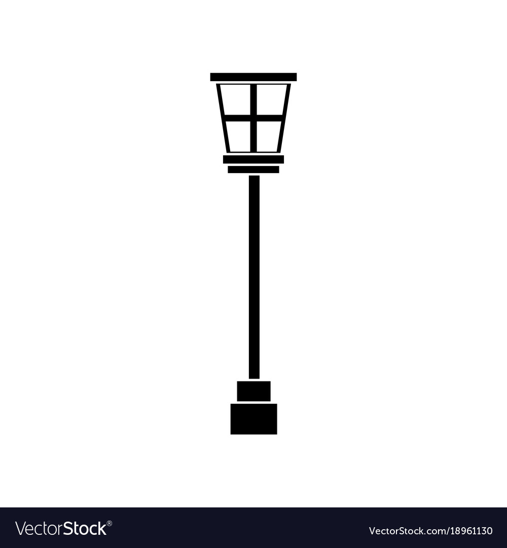 depositphotos gmail background concept isolated street lamp illustration white city flat design post on com vector by stock
