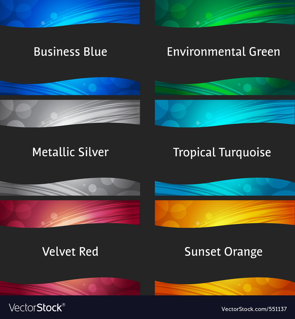 Wavy colorful backgrounds vector image