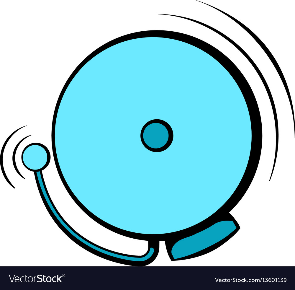 Fire alarm icon icon cartoon vector image