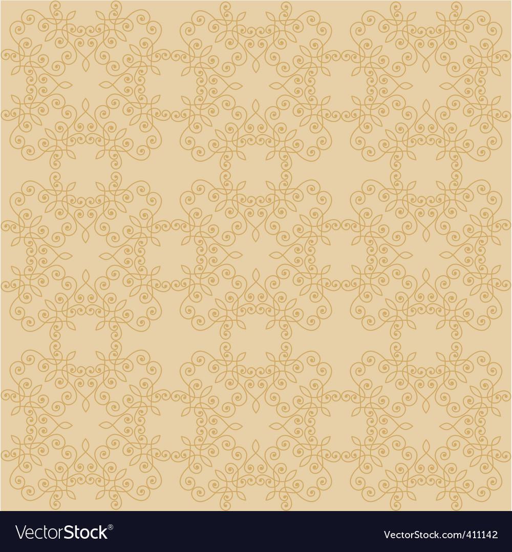 Victorian wallpaper vector image