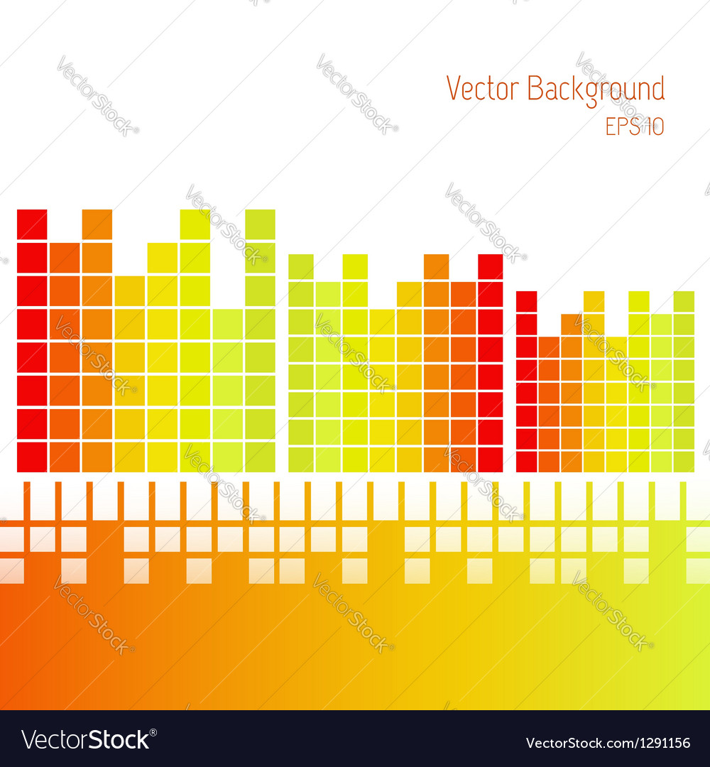 Abstract blocks background vector image