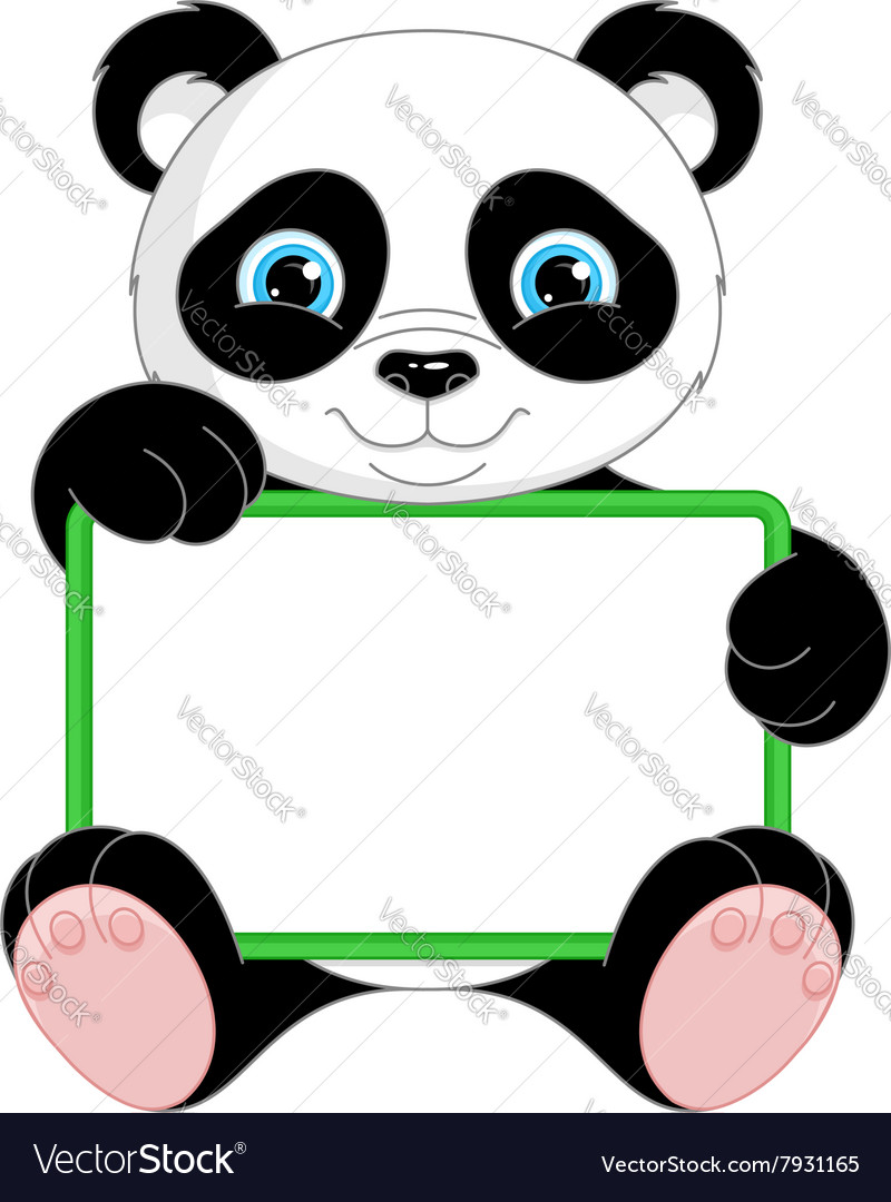 Panda picture frame for Pictureframes net