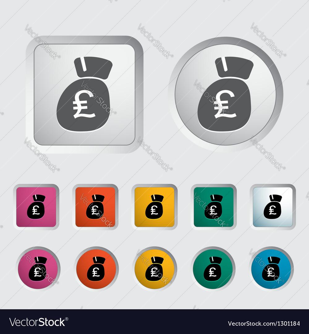 Pound vector image