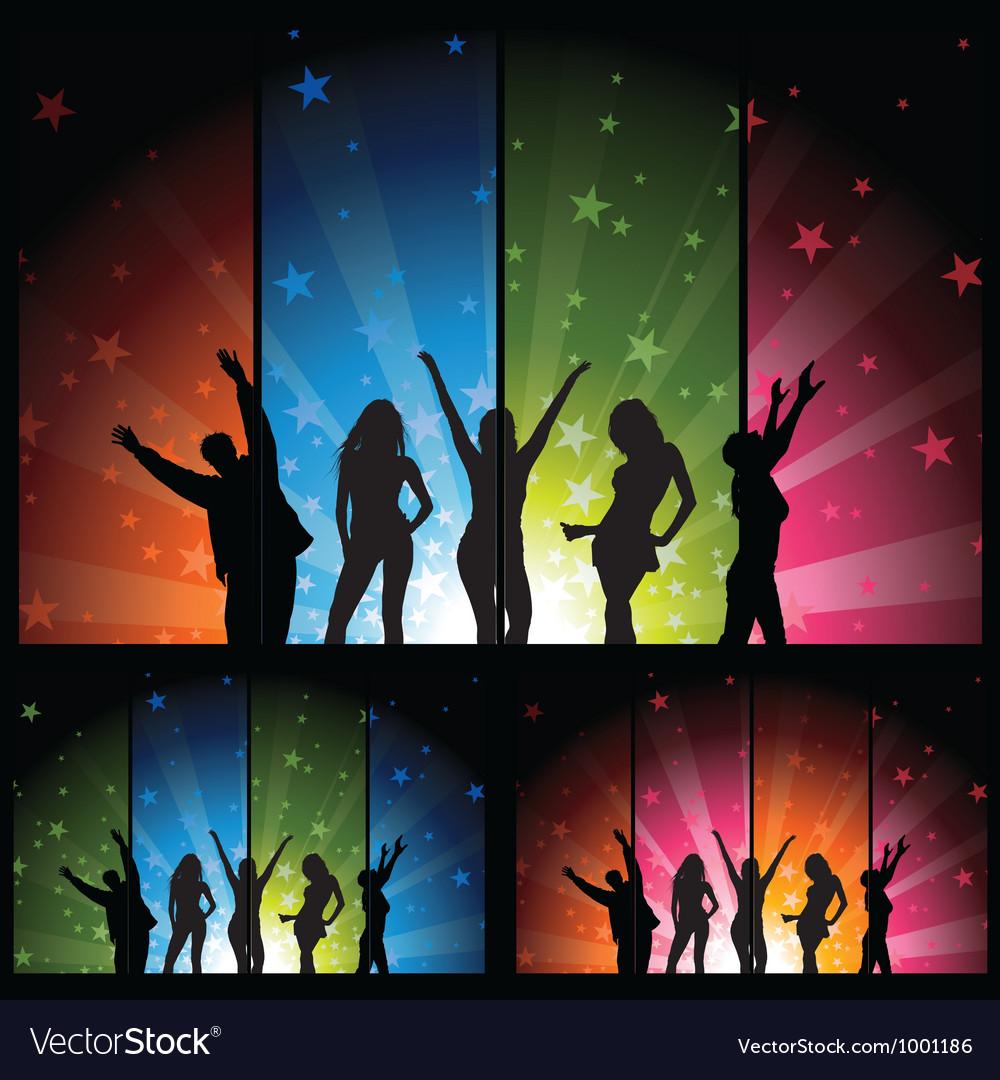 Night Club Life vector image
