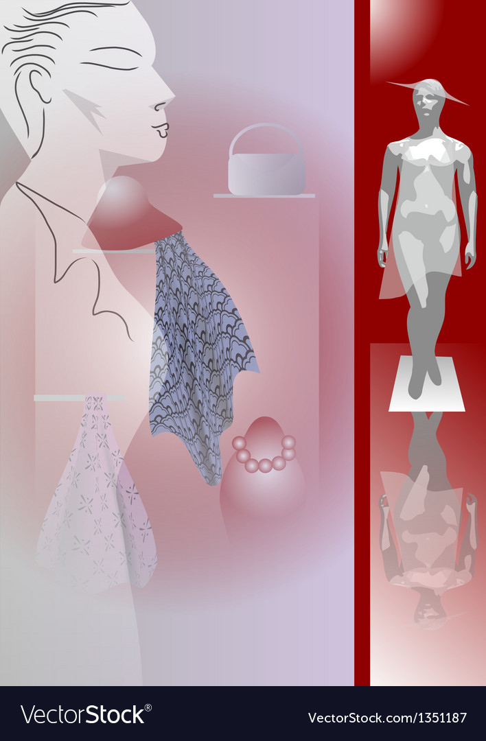 For shopping vector image