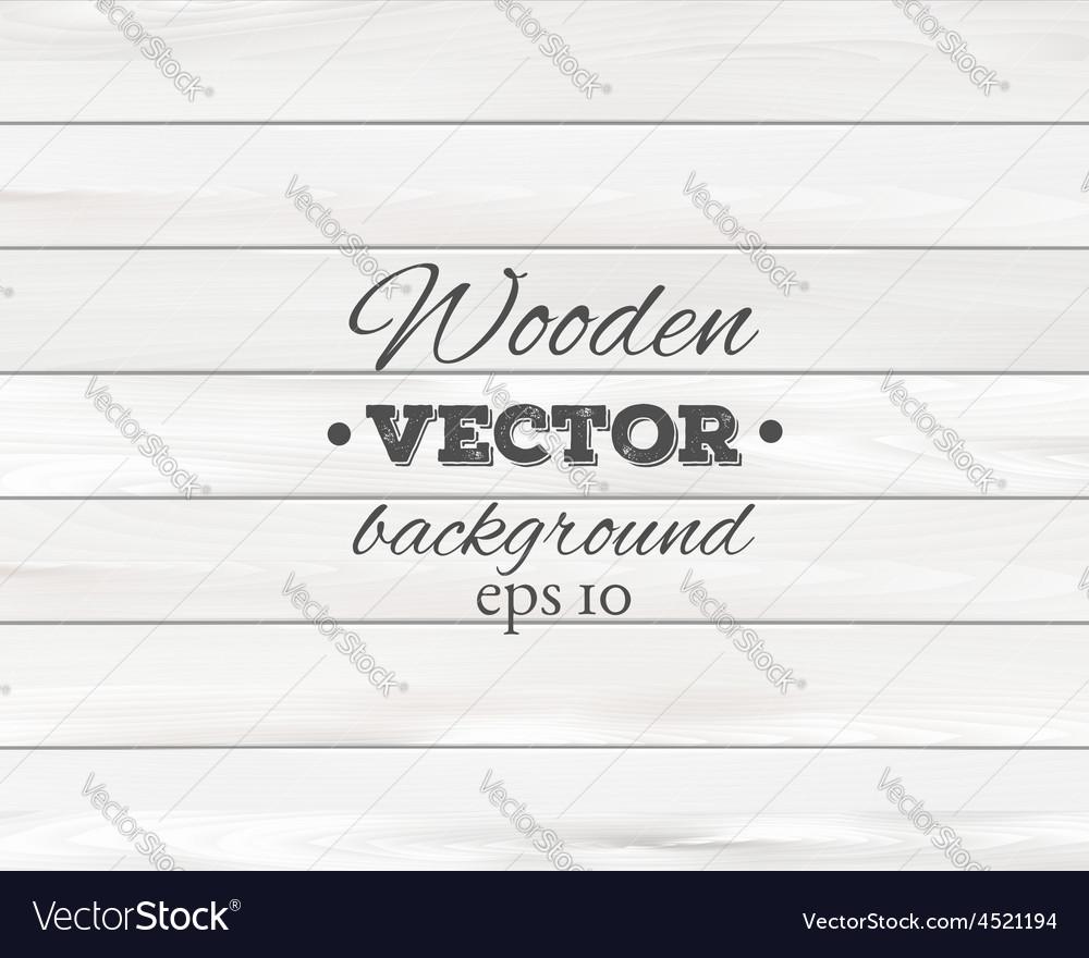 Wooden background Wood texture vector image