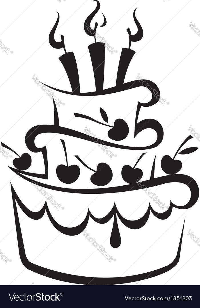 Cake Design Vector Eps Kustura for