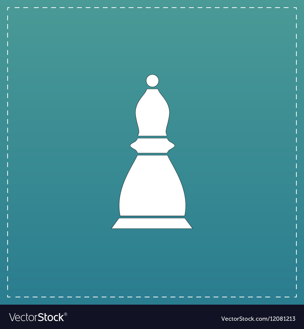 Chess officer icon vector image