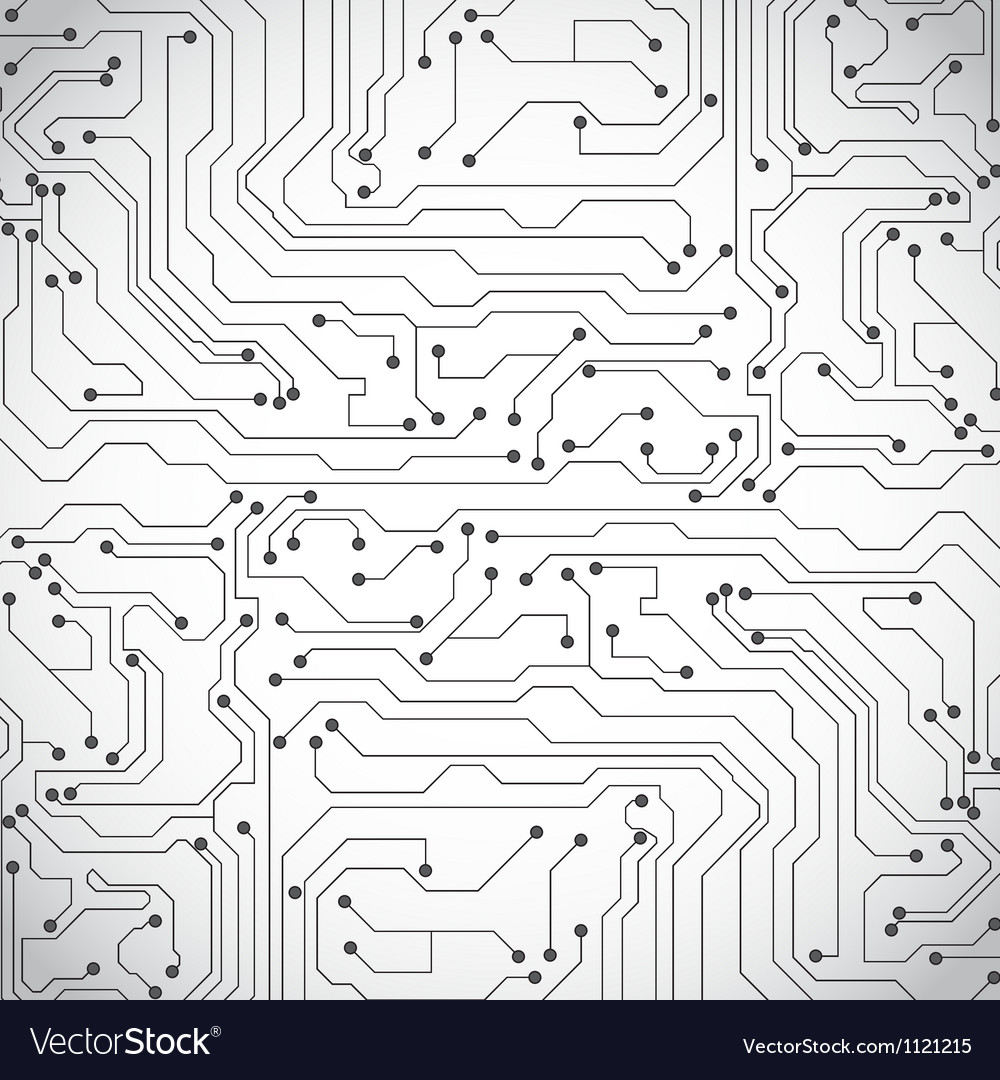 Microchip background vector image