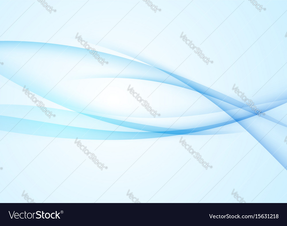 Bright blue abstract cool folder background vector image
