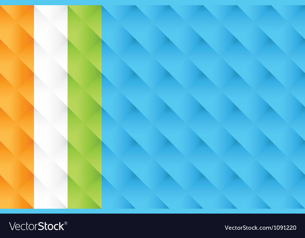Woven Abstract seamless pattern set vector image