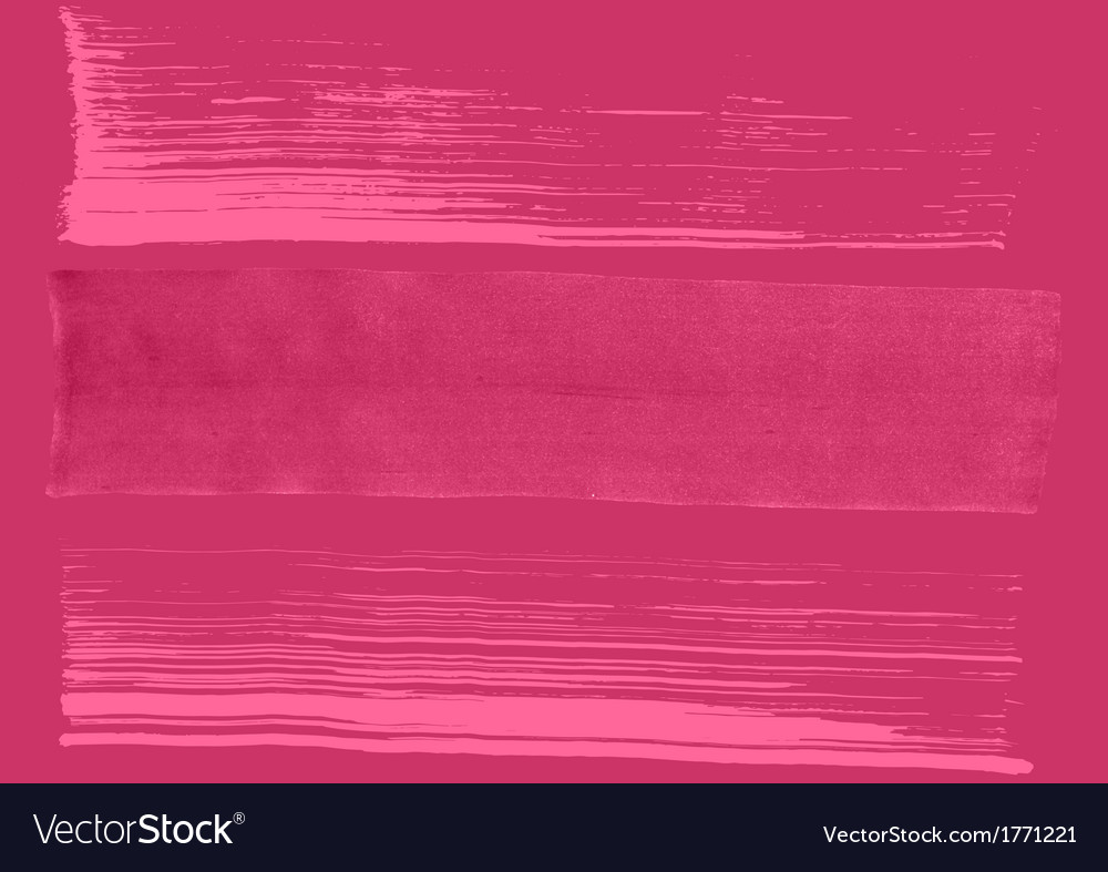 Grunge background Paint-brush strokes vector image