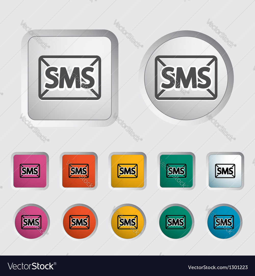 Sms vector image