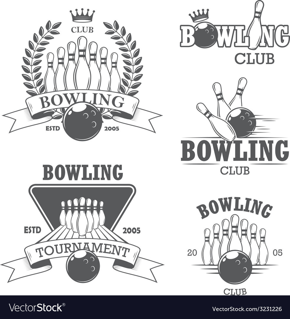 Bowling 1 vector image