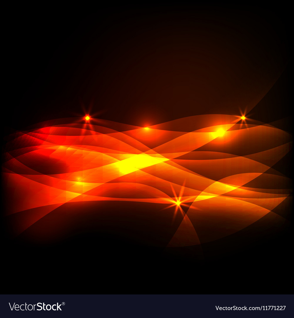Dark Colorful light effect vector image