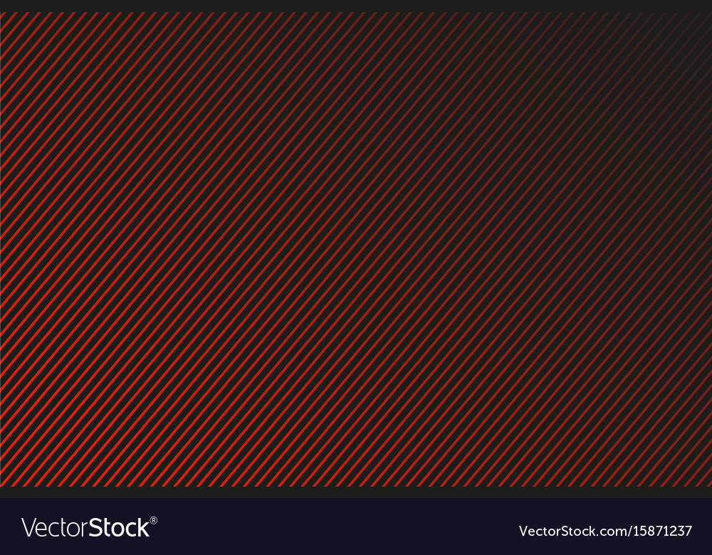 Dark abstract background red and black striped vector image