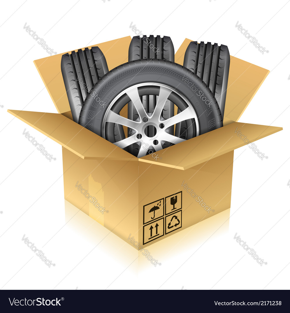 Tires vector image