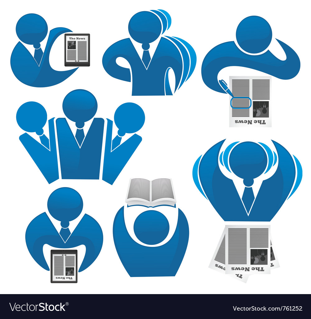 Office work business vector image