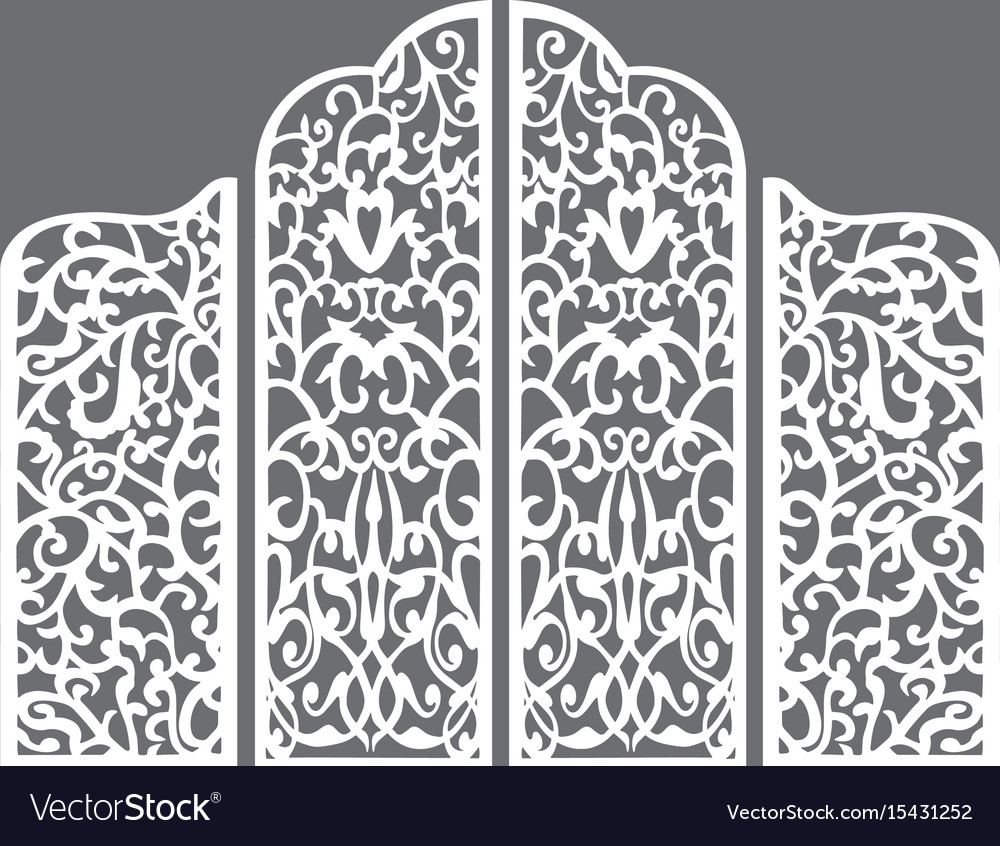 Wedding white screen vector image