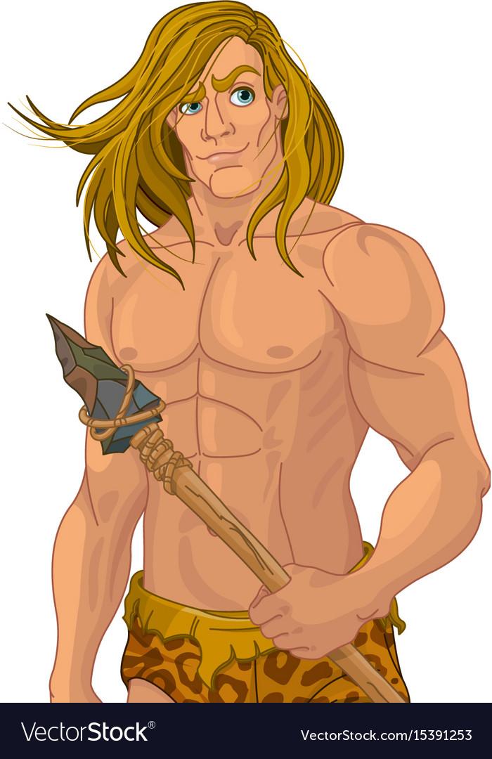 Tarzan vector image