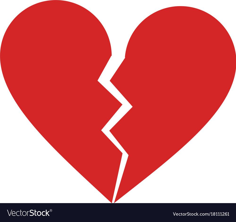 Broken heart cartoon icon image royalty free vector image broken heart cartoon icon image vector image buycottarizona
