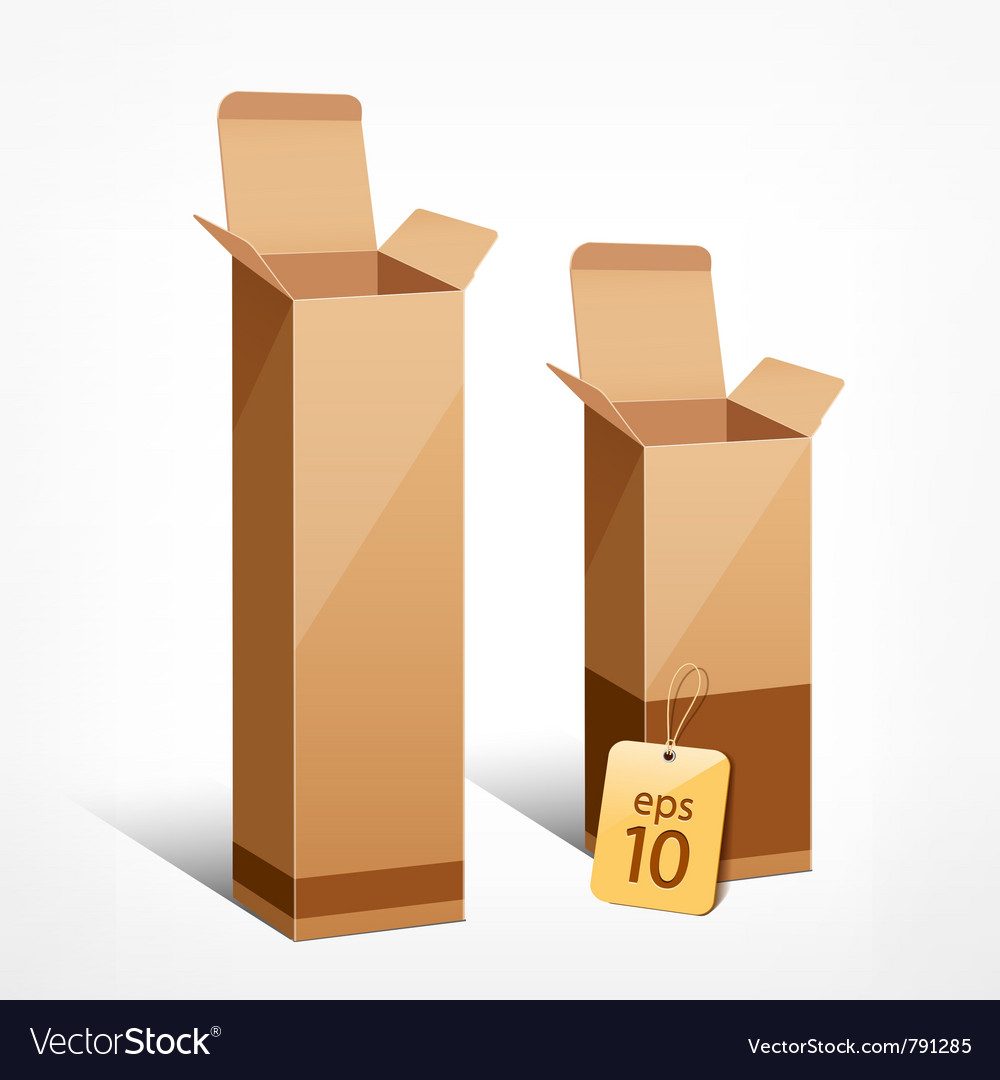 Boxes of liquor vector image