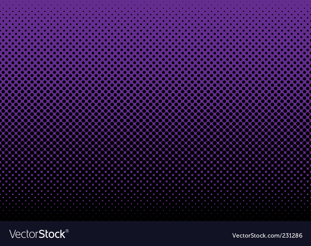Halftone abstract background vector image