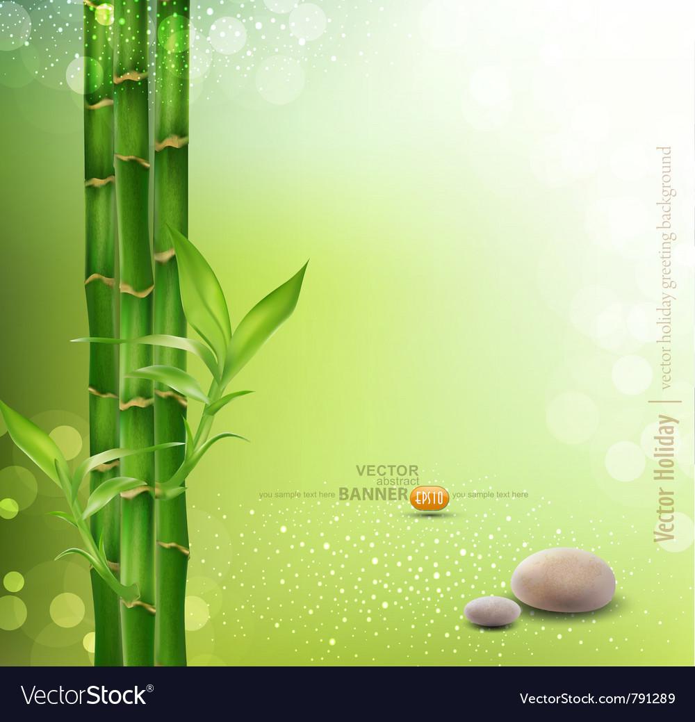 Meditative oriental background vector image