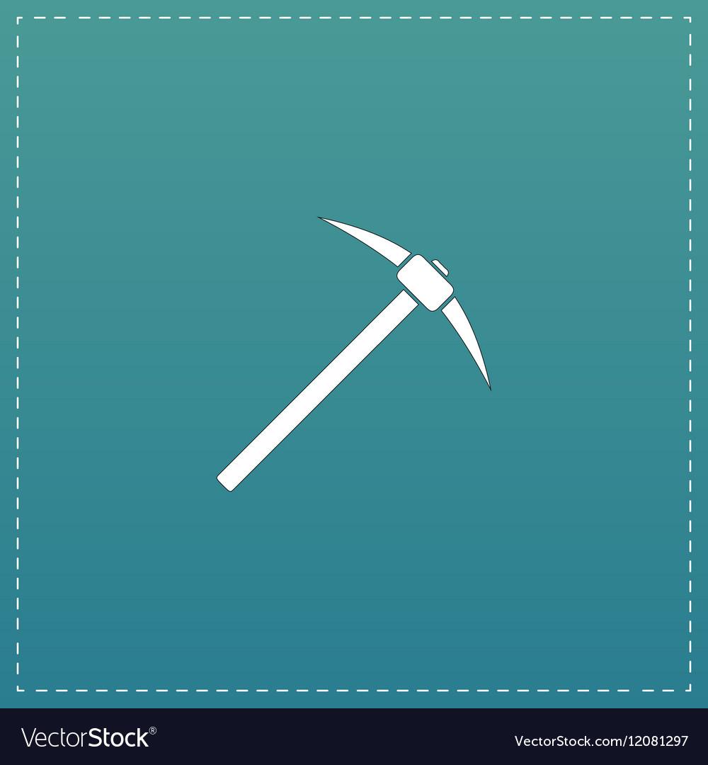 The pick icon vector image