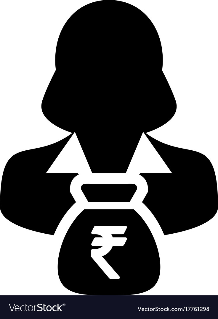 Indian rupee sign icon person female avatar vector image indian rupee sign icon person female avatar vector image biocorpaavc Choice Image
