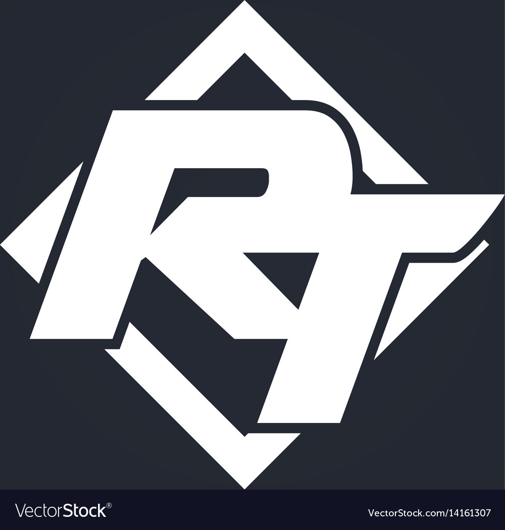 Rt icon vector image
