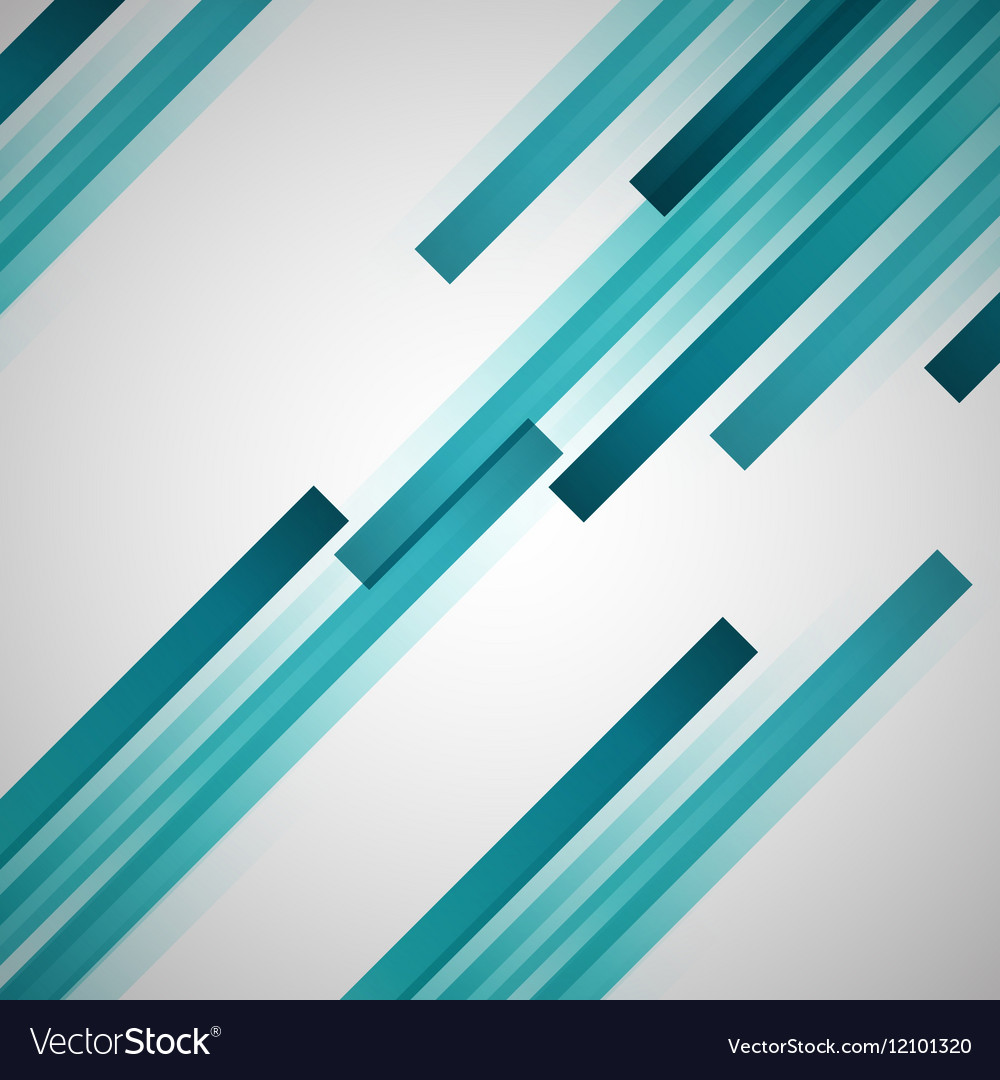 Abstract background with green straight lines vector image