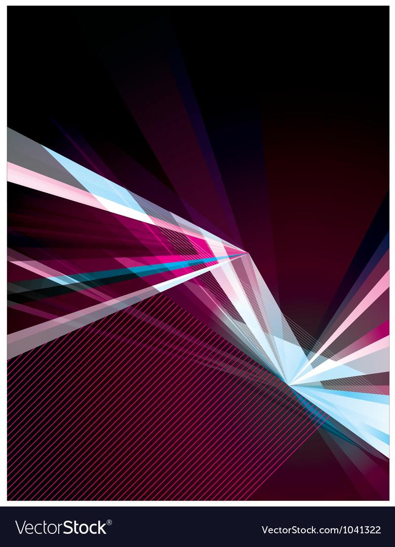 Bright Fractals vector image