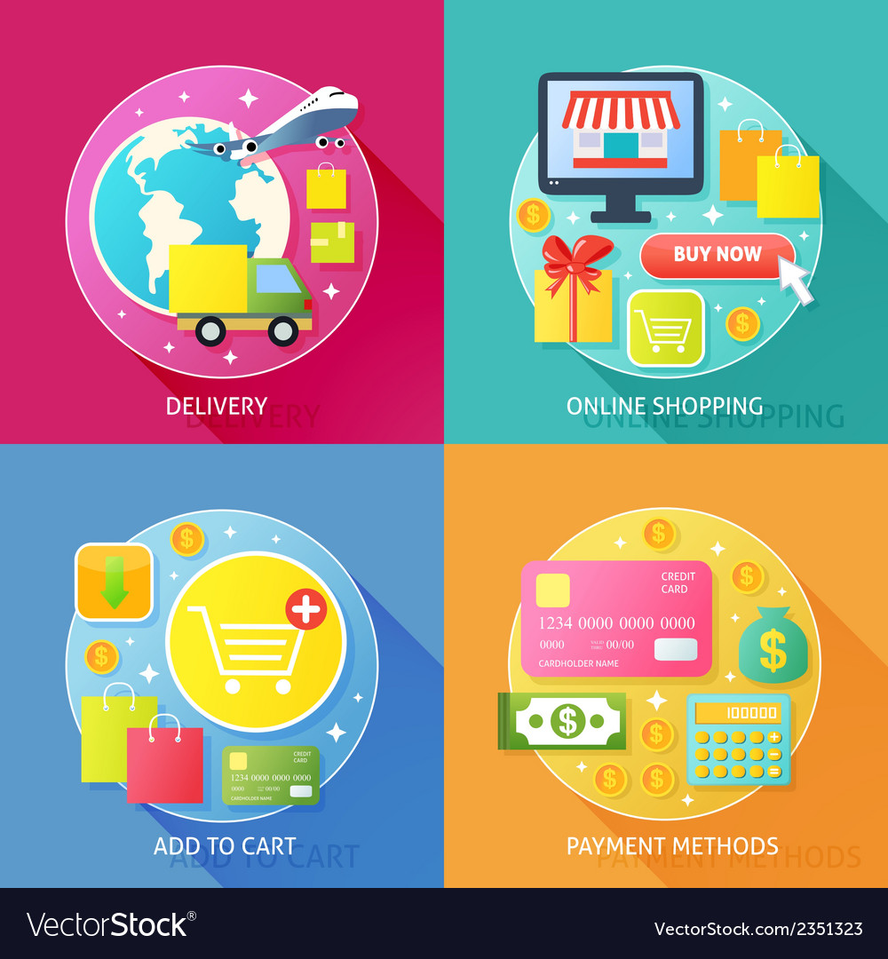 Business process concept Royalty Free Vector Image