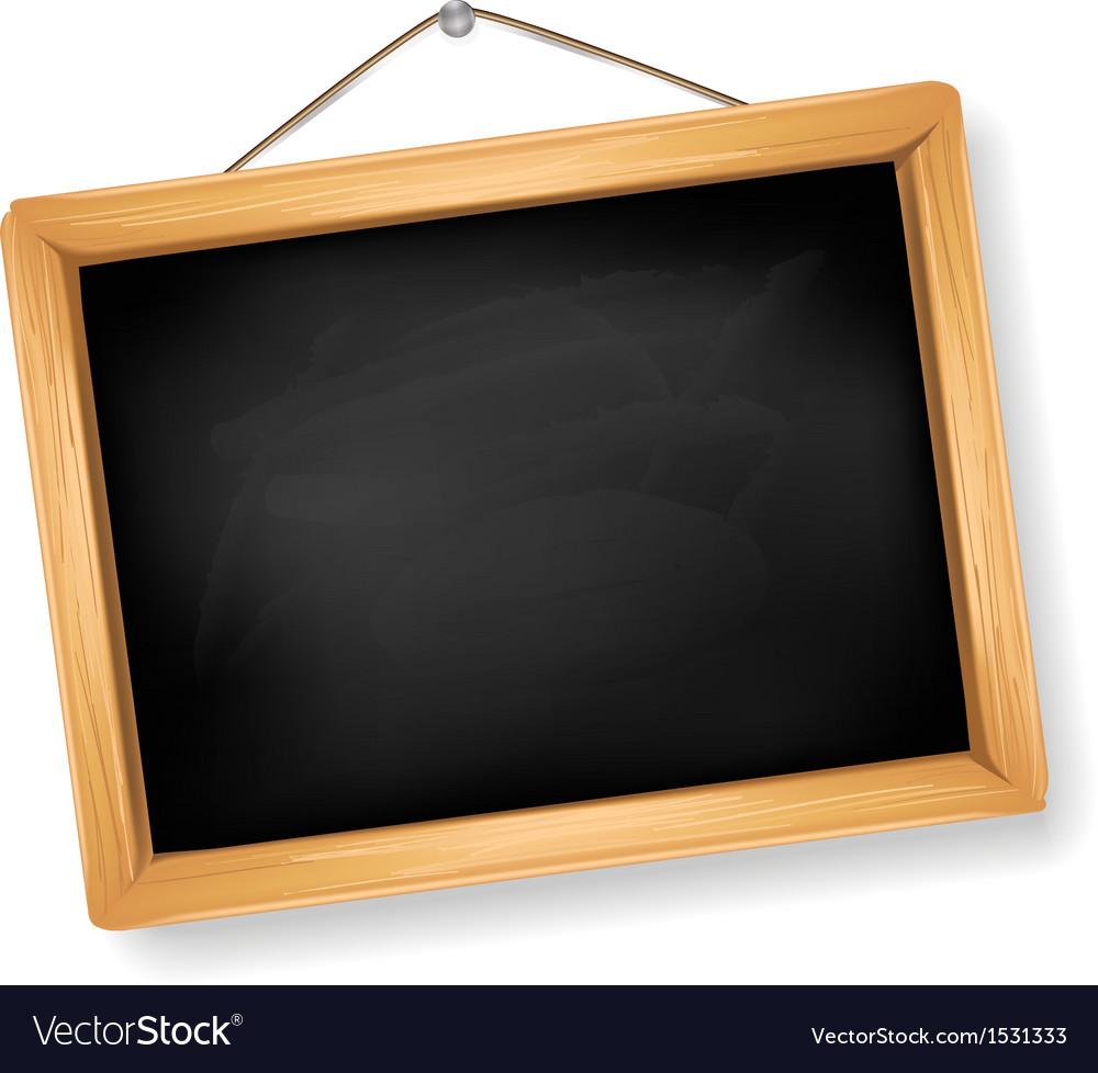 Little blackboard vector image