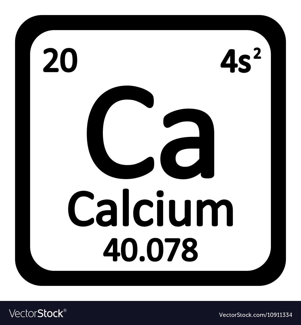 Periodic table element calcium icon royalty free vector periodic table element calcium icon vector image buycottarizona