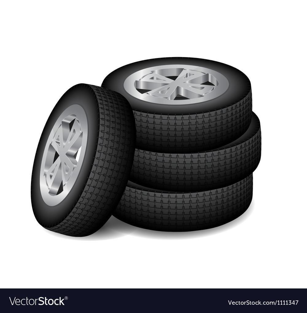 Wheel 2 vector image