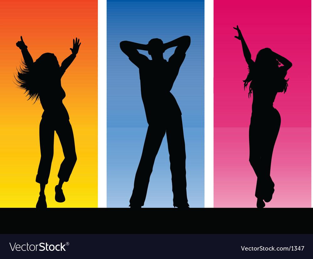Everyone dance Vector Image