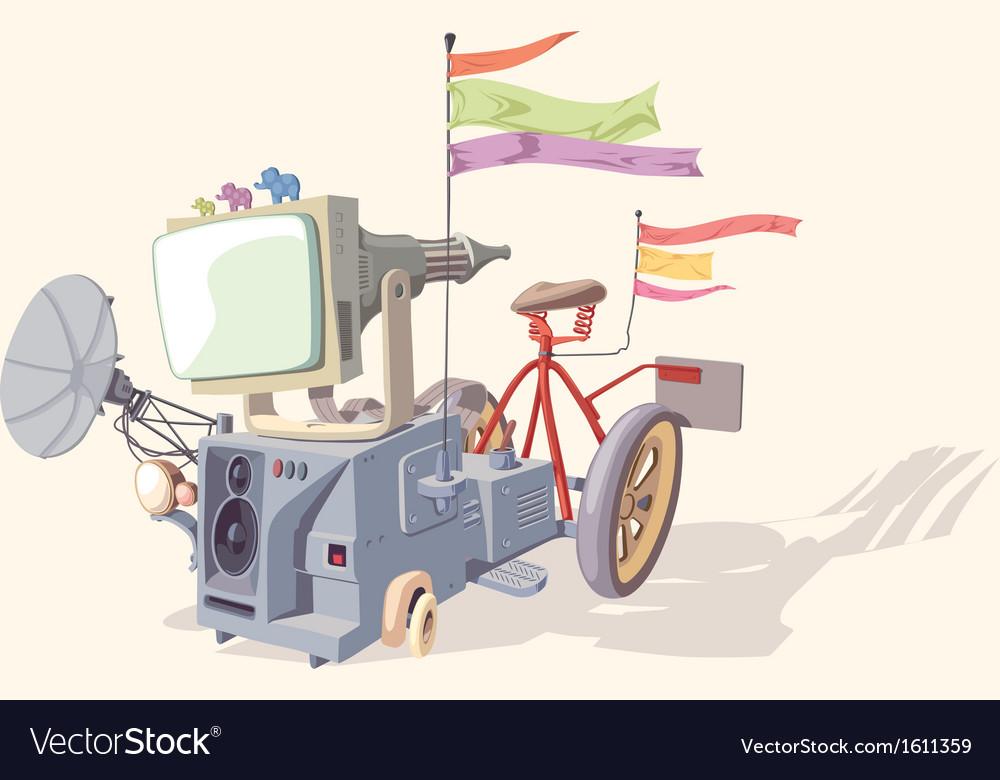 Strange Device vector image
