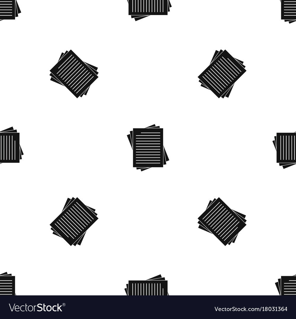 Vintage Lined Papers Pattern Seamless Black Vector Image  Lined Papers