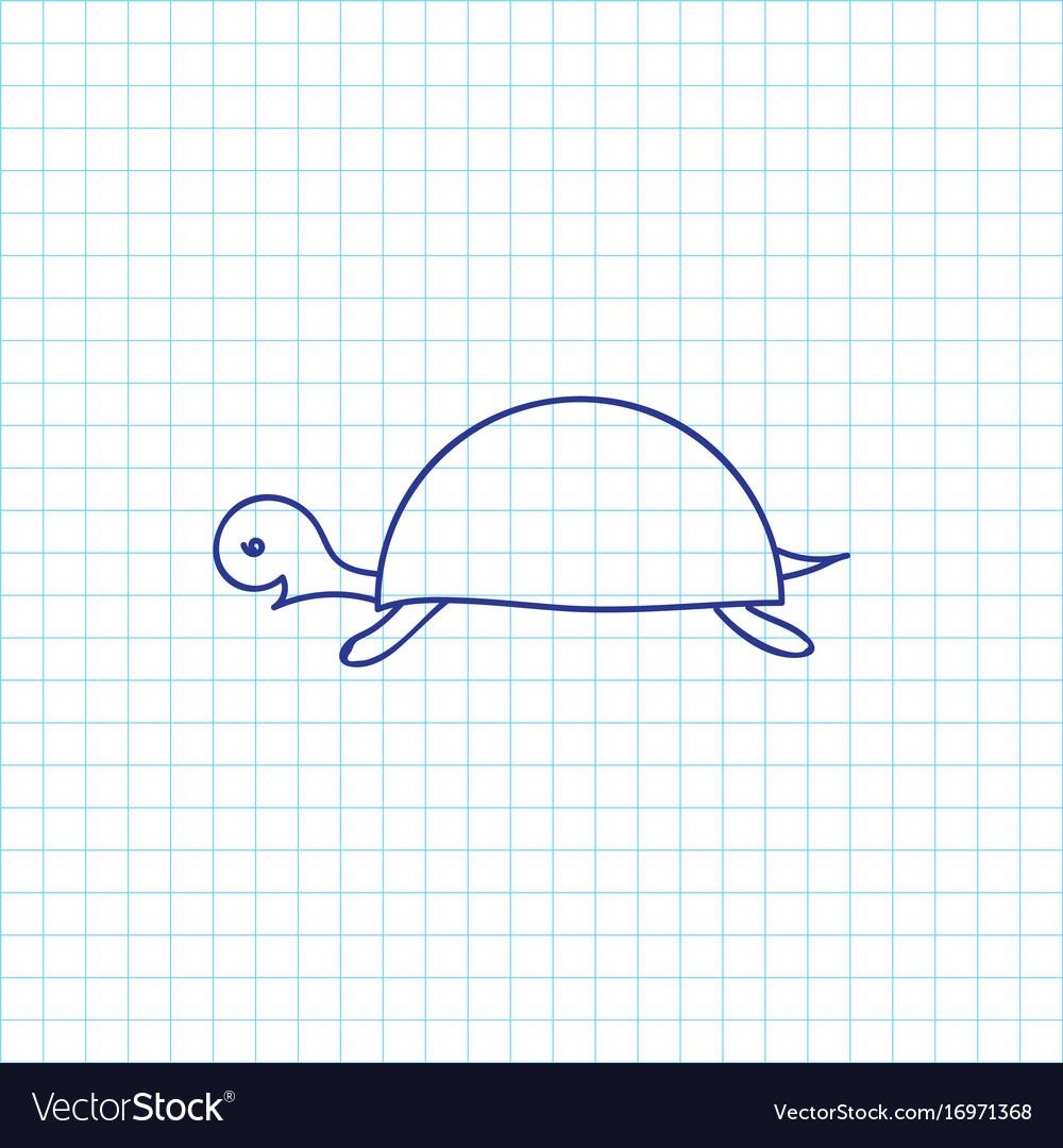 Of zoology symbol on turtle royalty free vector image of zoology symbol on turtle vector image biocorpaavc