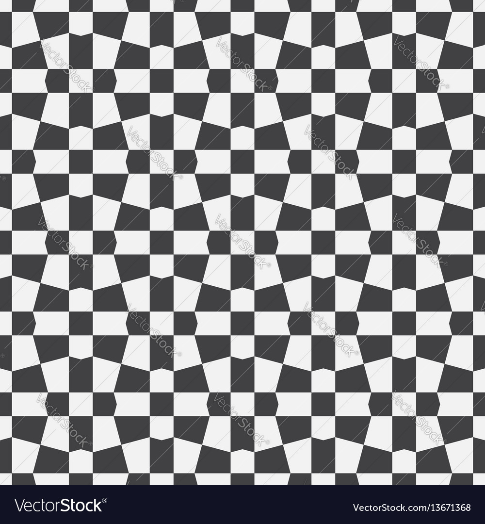 Unequal checks abstract checkered background vector image
