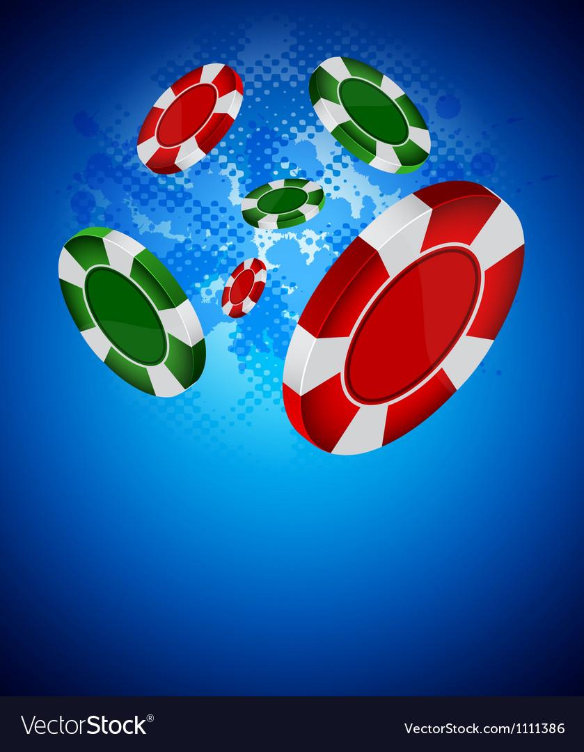 Casino back Vector Image