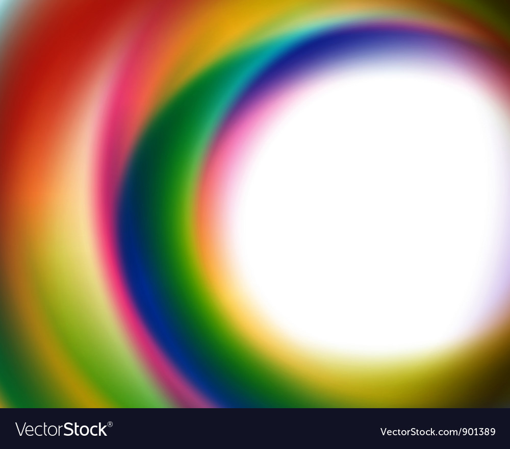 Abstract smooth colorful lines background vector image