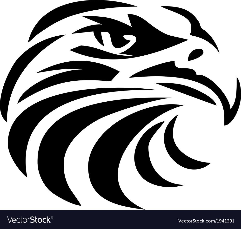 Eagle Head tribal Royalty Free Vector Image - VectorStock