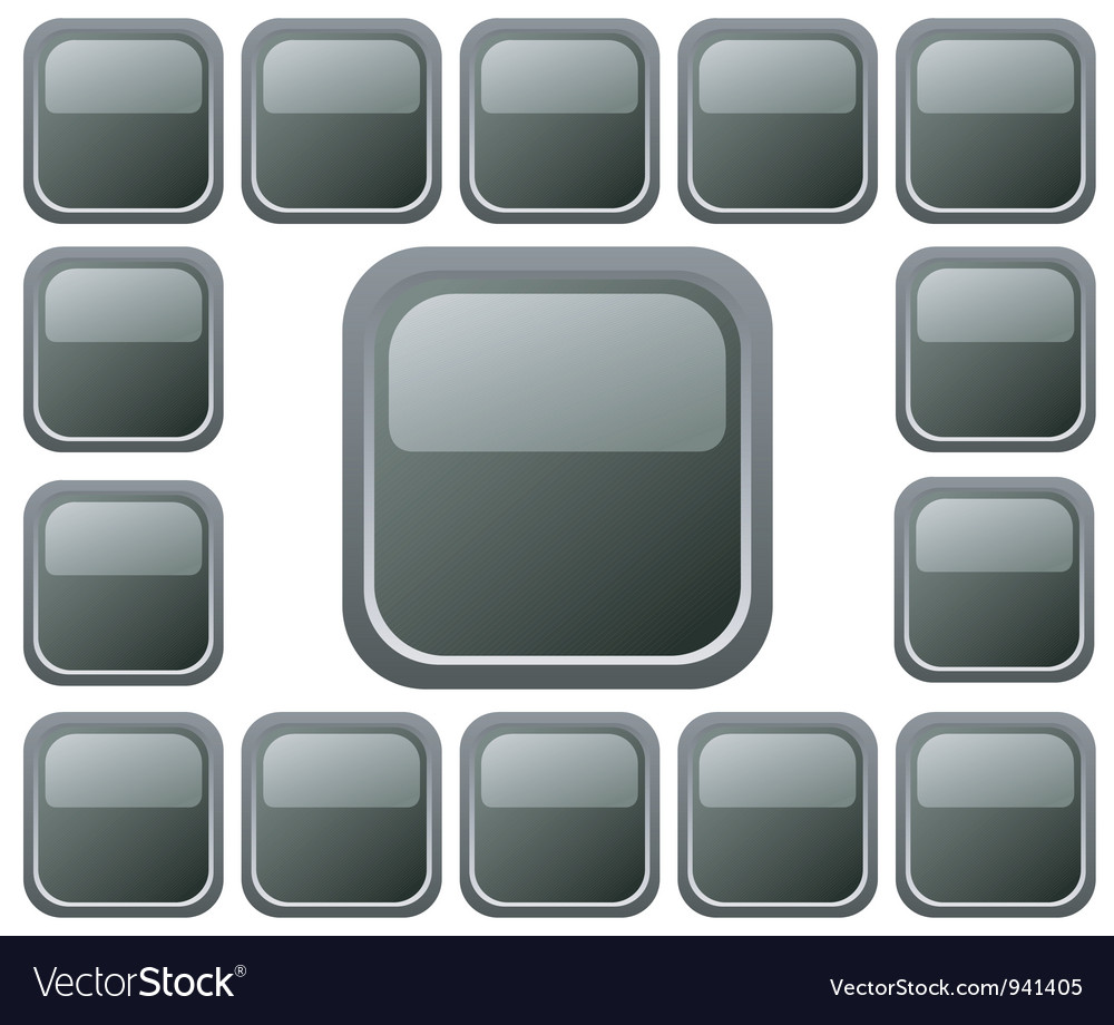 Education buttons vector image