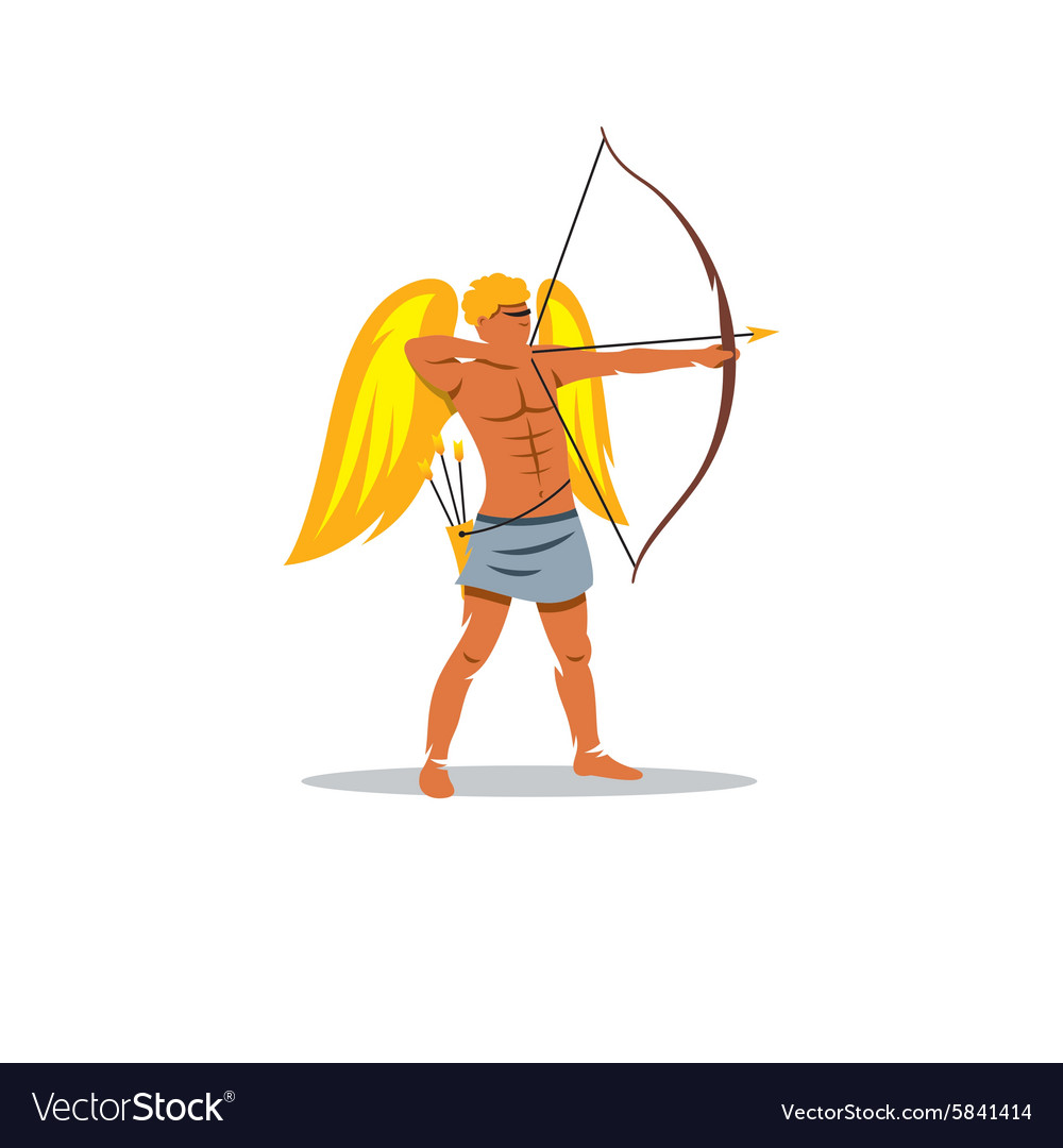 Eros sign the mythological greek god of love vector image biocorpaavc Images
