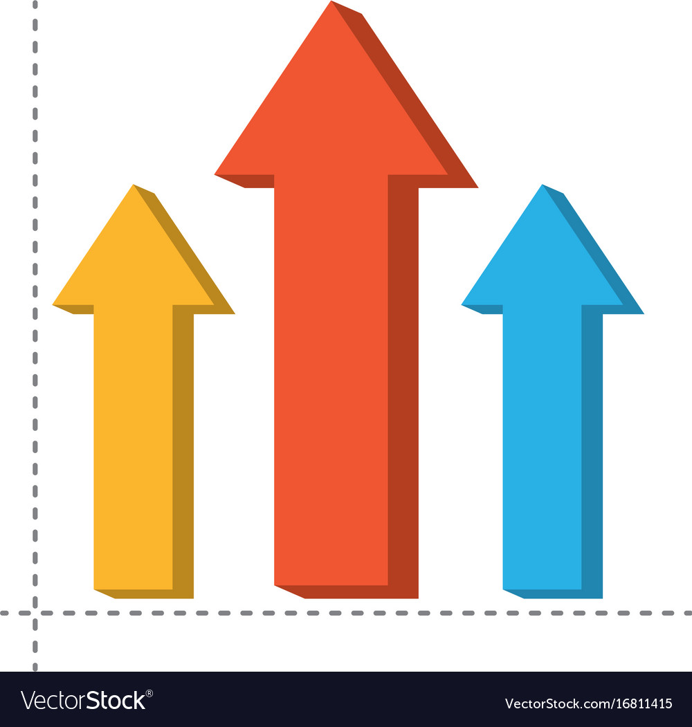 infographic arrows