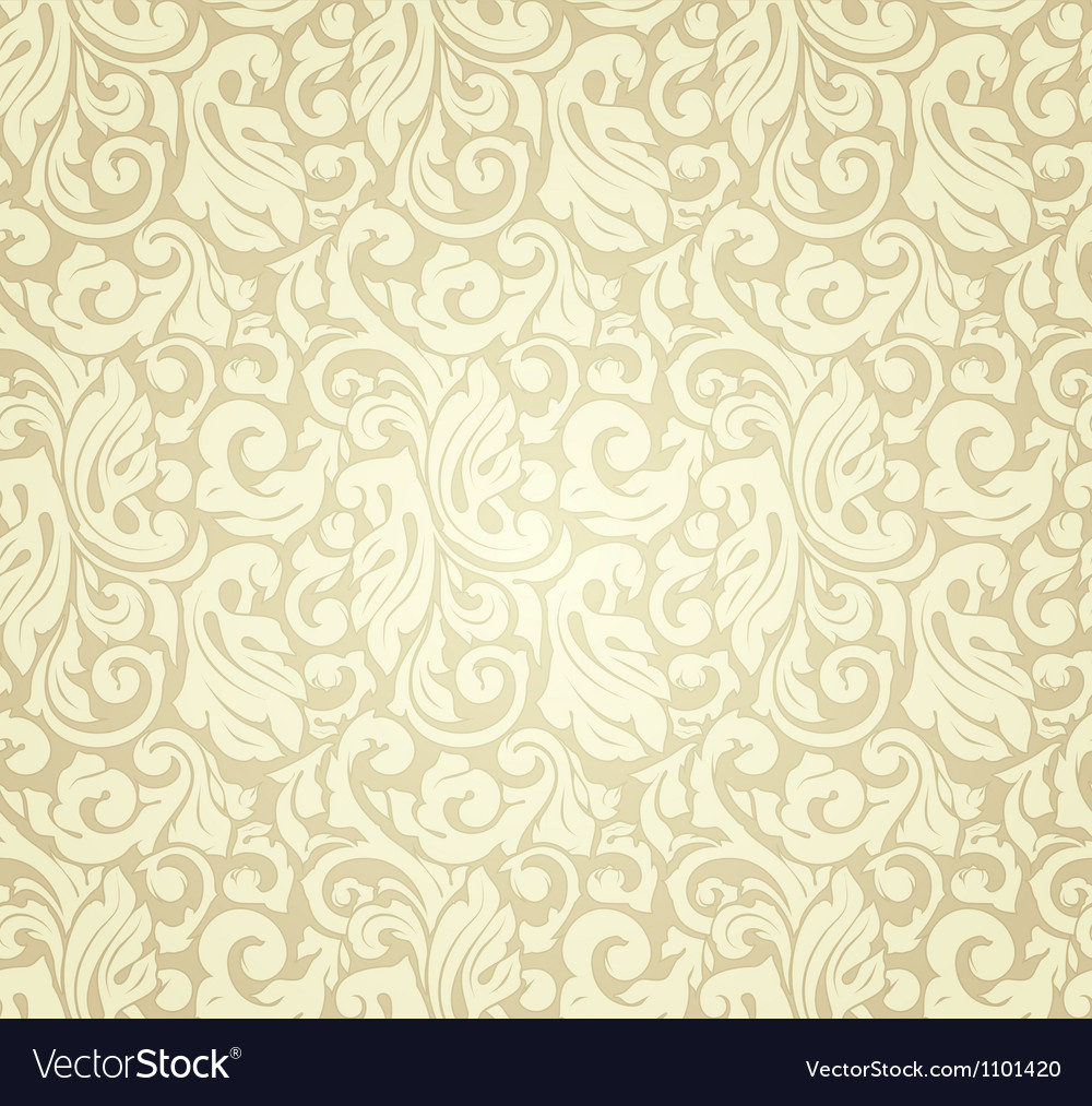 Yellow pattern seamless vector image